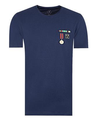 Tween Lacivert Baskılı T-shirt - 8681649387442 | Damat Tween