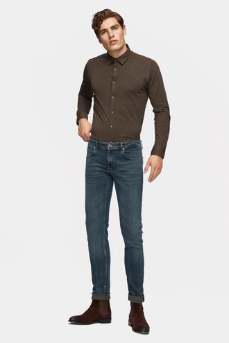 Tween Super Slim Fit İndigo Denim Pantolon - 8681649692713 | Damat Tween