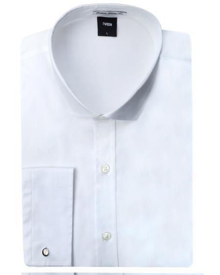Tween Super Slim Fit Beyaz Düz Easy Care Gömlek - 8681649385165 | Damat Tween