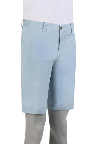 Damat Slim Fit Mavi Kaz Ayağı Şort - 8681649572930 | Damat Tween