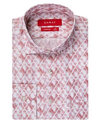 Damat Comfort Kırmızı Desenli Gömlek - 8681649158875 | D'S Damat