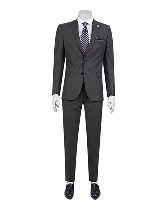 Tween Slim Fit Antrasit Takım Elbise - 8681649293620 | D'S Damat