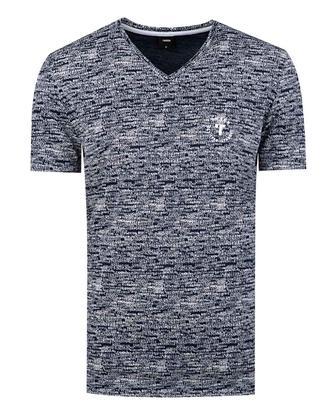 Tween Lacivert Baskılı T-shirt - 8681649725794 | Damat Tween