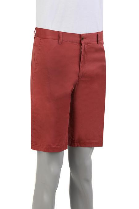 Damat Slim Fit Kırmızı Kaz Ayağı Şort - 8681649572862 | Damat Tween