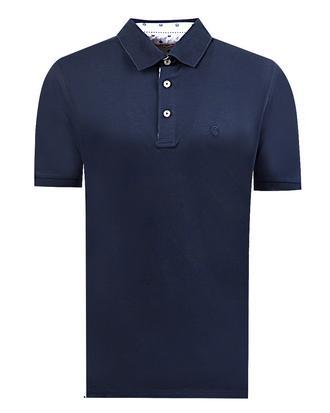 Damat Lacivert Çizgili T-shirt - 8681649194224 | Damat Tween
