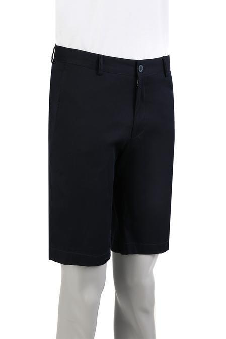Damat Slim Fit Lacivert Düz Şort - 8681649674320 | Damat Tween