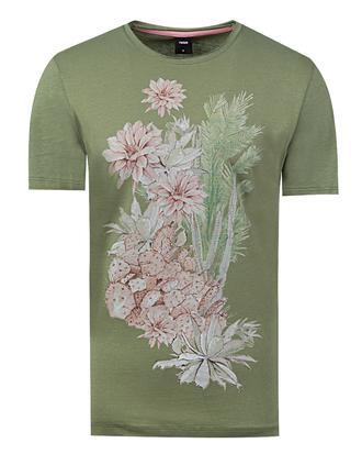 Tween Haki Baskılı T-shirt - 8681649726104 | Damat Tween