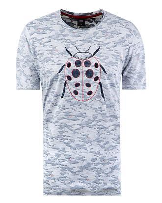 Tween Lacivert Baskılı T-shirt - 8681649230618 | Damat Tween