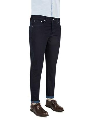 Damat Slim Fit İndigo Denim Pantolon - 8681649361800 | Damat Tween
