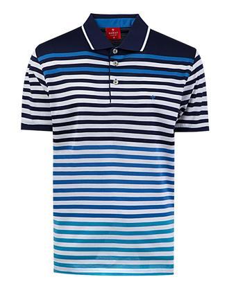 Damat Lacivert Çizgili T-shirt - 8681649720119 | Damat Tween
