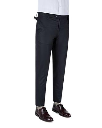 Tween Slim Fit Lacivert Kumaş Pantolon - 8681649014089 | Damat Tween