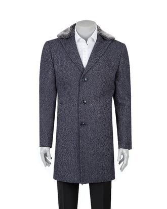 Tween Lacivert Palto - 8681649376354 | Damat Tween