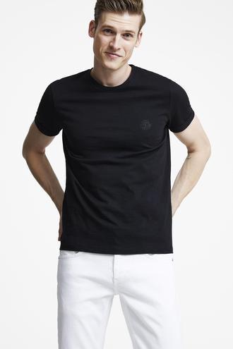 Tween Siyah Baskılı T-shirt - 8695460253381 | Damat Tween