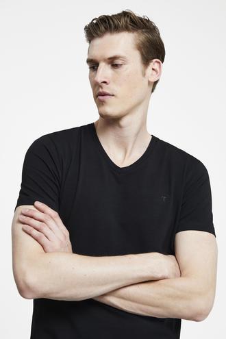 Tween Siyah Baskılı Baskılı T-shirt - 8695460256092 | Damat Tween