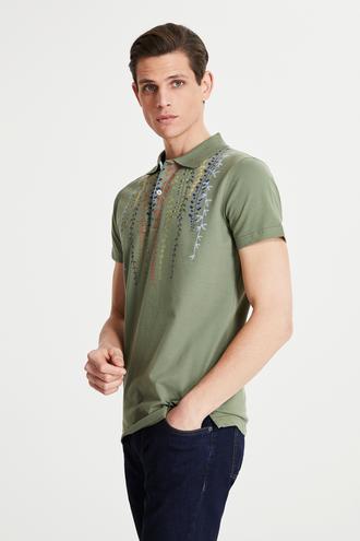 Tween Haki Baskılı T-shirt - 8682364499106 | Damat Tween