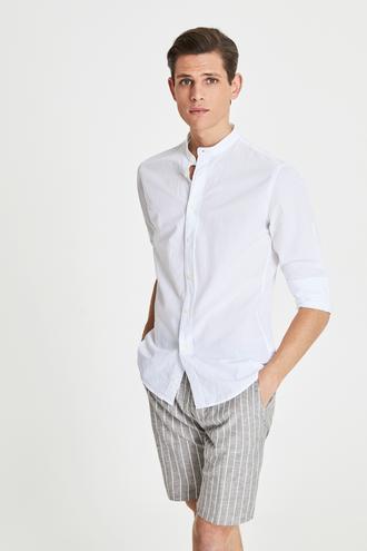 Tween Slim Fit Beyaz Gömlek - 8681649893387   Damat Tween