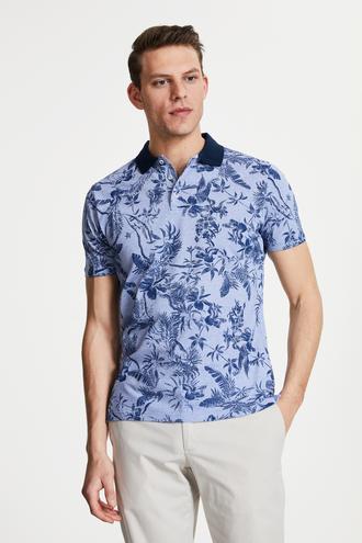 Damat Mavi Jogger T-shirt - 8682364211944 | Damat Tween