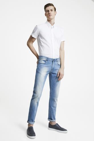 Tween Super Slim Fit Mavi Denim Pantolon - 8682364212071 | Damat Tween