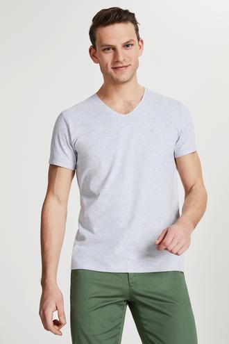Damat Gri T-shirt - 8681649983057 | Damat Tween