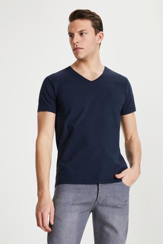 Damat Lacivert T-shirt - 8681649983125 | Damat Tween