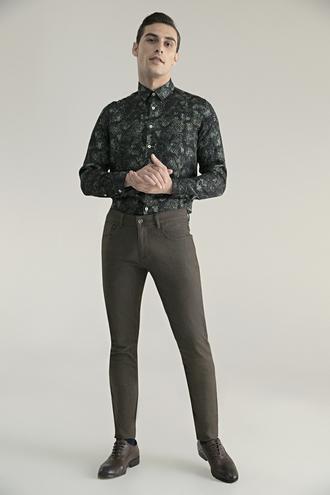 Tween Super Slim Fit Kahve Chino Pantolon - 8682364417544 | Damat Tween