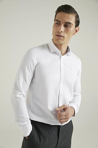 Tween Slim Fit Beyaz Gömlek - 8682364355396 | Damat Tween