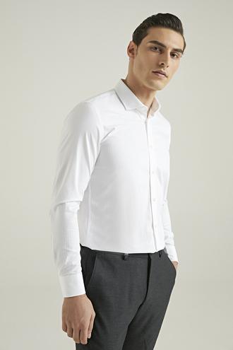 Tween Slim Fit Beyaz Gömlek - 8682364355907 | Damat Tween
