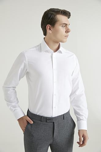 Ds Damat Regular Fit Beyaz Gömlek - 8682445025552 | D'S Damat