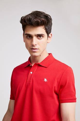 Ds Damat Regular Fit Kırmızı T-shirt - 8682060786487 | D'S Damat