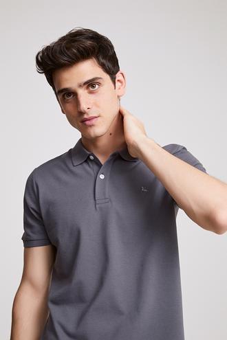 Ds Damat Regular Fit Antrasit T-shirt - 8682060786685 | D'S Damat