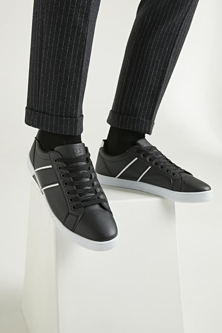 Twn Siyah Ayakkabı - 8682445117172 | D'S Damat