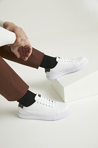 Twn Beyaz Sneaker Ayakkabı - 8682445177121 | D'S Damat