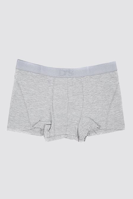 Ds Damat Regular Fit Gri Boxer - 8681779948674 | D'S Damat