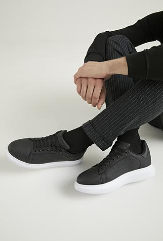 Twn Siyah Ayakkabı - 8682445117271 | D'S Damat