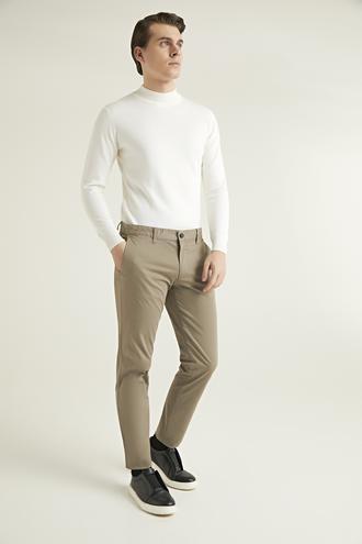 Ds Damat Regular Fit Bej Chino Pantolon - 8682060579003 | D'S Damat