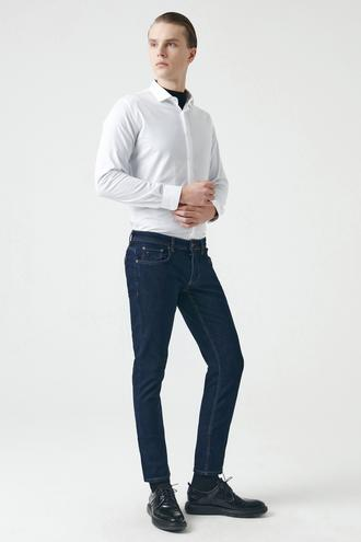 Tween Super Slim Fit Lacivert Denim Pantolon - 8682364423712 | Damat Tween