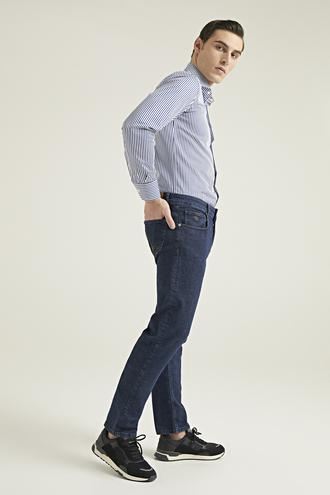 Damat Slim Fit Lacivert Denim Pantolon - 8682364408283 | Damat Tween