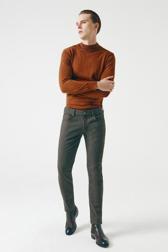 Tween Super Slim Fit Haki Chino Pantolon - 8682364940257   Damat Tween