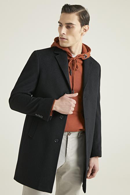 Ds Damat Siyah Palto - 8682445192100 | D'S Damat
