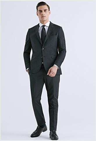 Tween Slim Fit Antrasit Düz Takım Elbise - 8682364345601 | Damat Tween