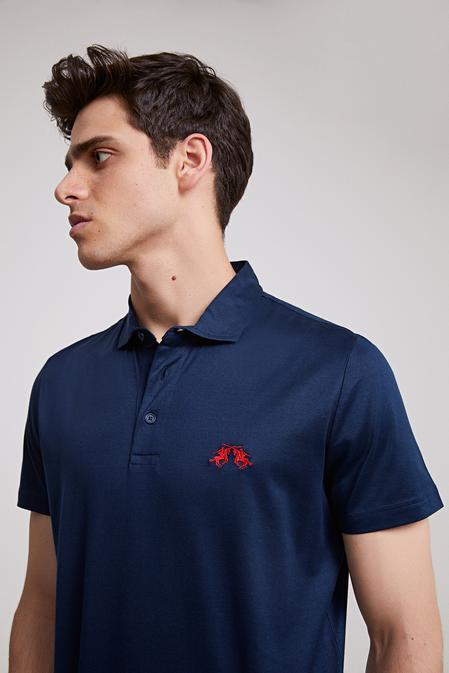 Ds Damat Regular Fit Lacivert T-shirt - 8681779320654   D'S Damat