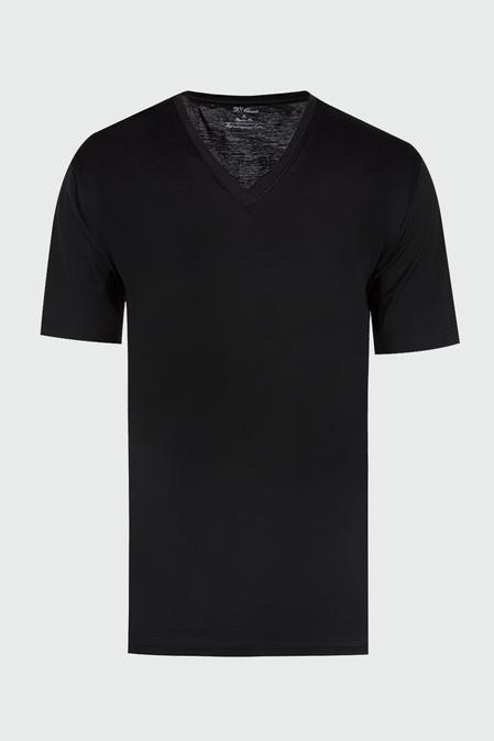 Ds Damat Regular Fit Siyah T-shirt - 8681779321118 | D'S Damat