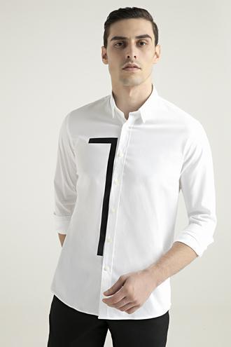 Tween Slim Fit Beyaz Gömlek - 8682364939282 | Damat Tween