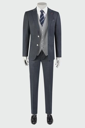 Ds Damat Slim Fit Lacivert Kombinli Takım Elbise - 8682060934376 | D'S Damat