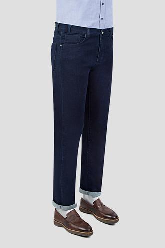 Ds Damat Slim Fit Lacivert Düz Denim Pantolon - 8681778566930   D'S Damat