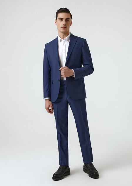 Ds Damat Slim Fit Lacivert Takım Elbise - 8682445180343   D'S Damat