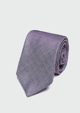 Ds Damat Mavi Desenli Kravat - 8682445180121 | D'S Damat