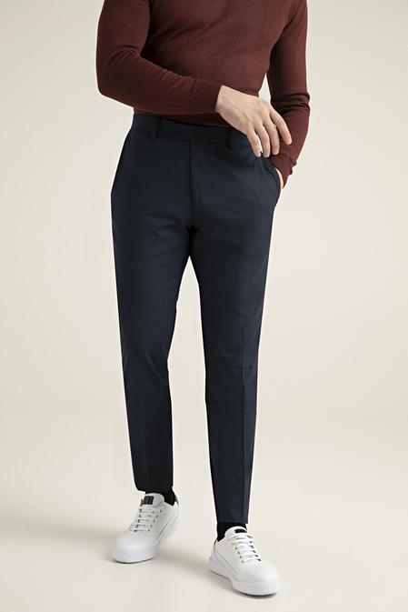 Tween Slim Fit Lacivert Kumaş Pantolon - 8682364511143 | Damat Tween