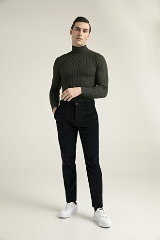 Damat Slim Fit Lacivert Chino Pantolon - 8682364467570 | Damat Tween