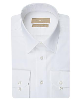 Damat Comfort Beyaz Düz Gömlek - 8681649263531 | Damat Tween